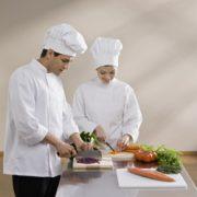 aşçı iş elbisesi takımı